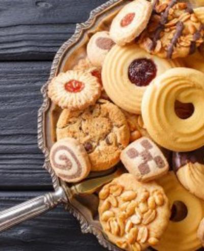 Biscotti e alimenti per la colazione